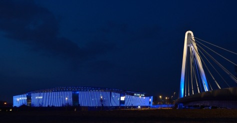 The Ghelamco Arena build by using ArcelorMittal Gent' steel